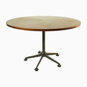 Mesa de comedor redonda de Ico Parisi para MIM, años 50