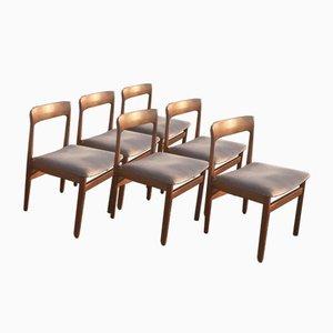Esszimmerstühle aus Teak von John Herbert für A. Younger Ltd., 1960er, 6er Set