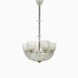 Chandelier by Barovier et Toso , 1940s