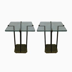 Model T18 Side Tables by Peter Ghyczy, 1970s, Set of 2
