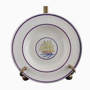 Piatto da zuppa di Gio Ponti per Richard Ginori, anni '30