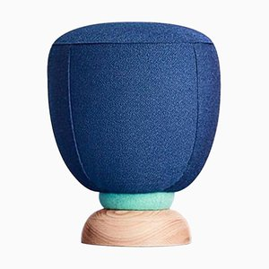 Toadstool Collection Blue Puff by Masquespacio