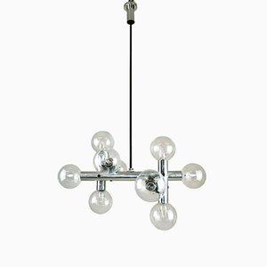 Lámpara de araña Sputnik Atomic de JT Kalmar para Kalmar, años 60
