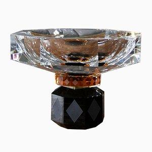 Handgeformte Arizona Schale aus Kristallglas von Reflections Copenhagen