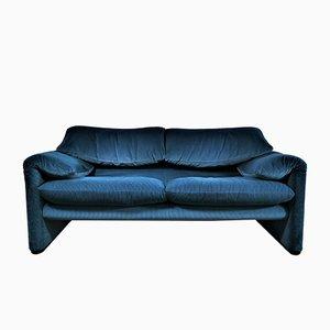 2-Seat Sofa by Vico Magistretti for Cassina, 1980s
