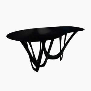 Table Sculpturale G-Table B+C en Acier Enduit par Zieta