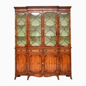 Regency Style Yew Cabinet, 1950s