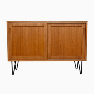 Danish Teak Sideboard by Carlo Jensen for Hundevad & Co., 1960s