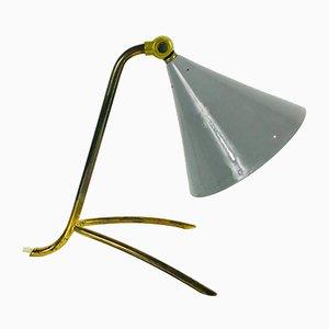 Mid-Century Italian Brass Tripod Table Lamp, 1950s