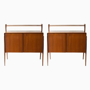 Italian Rosewood Sideboards, 1950s, Set of 2