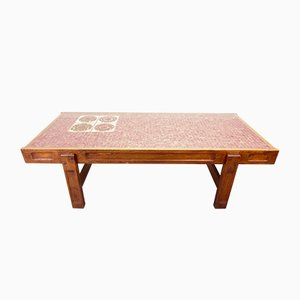 Vintage Mosaic Coffee Table by Julien Covemaeker for Juliette Belarti, 1970s