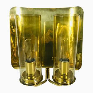 Mid-Century Swedish Brass Sconces from Hans-Agne Jakobsson AB Markaryd, 1970s, Set of 2