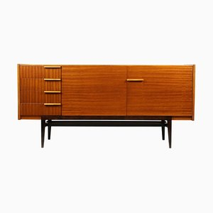 Mahogany Sideboard by Frantisek Mezulanik for UP Závody, 1960s