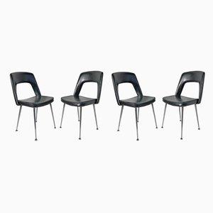 Chaises d'Appoint, 1970s, Set de 4
