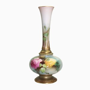 Vase by James Hadley for Royal Worcester, 1912