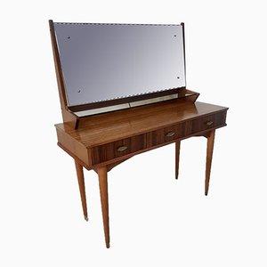 Consola Mid-Century de palisandro de Archie Shine, años 60