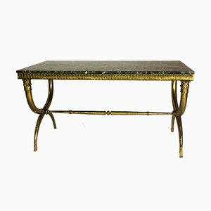 Table Basse en Bronze de Maison Jansen, 1940s