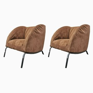Italian Armchairs by Tacchini, 2000s, Set of 2