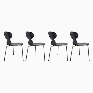 Dining Chairs by Arne Jacobsen for Fritz Hansen, 1950s, Set of 4