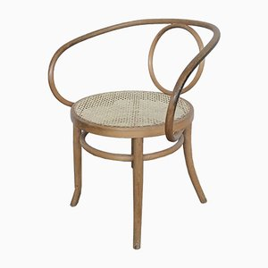 Antique Bentwood Lounge Chair from Fischel
