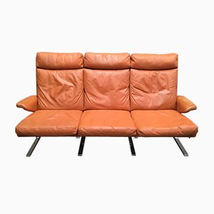 Leather Couch by Reinhold Adolf for Cor, 1960s