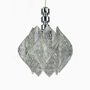 Vintage Space Age Deckenlampe aus Acryl