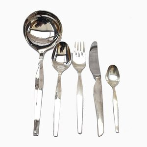 Mid-Century Cutlery Set by Ercuis
