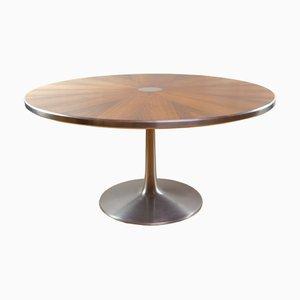 Mesa de comedor de palisandro de Poul Cadovius para Cado, años 60