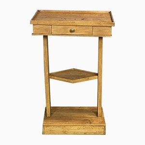 Vintage Walnut Side Table