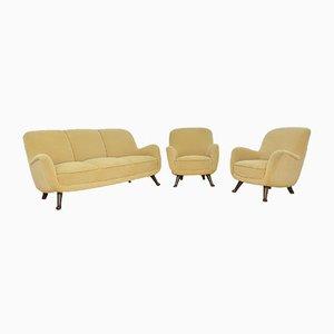 Vintage Sitzgruppe von Berga Mobler für Berga Mobler, 3er Set