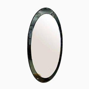 Abgeschrägter italienischer Spiegel, 1960er