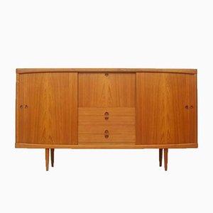 Aparador danés de teca de HW Klein para Bramin, años 60