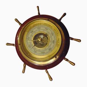 Deutsches Vintage Marinebarometer von Veranderlijk, 1940er
