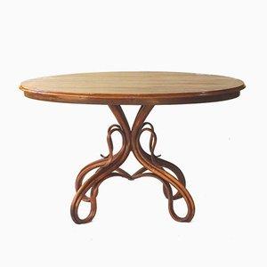 Table de Salle à Manger Modèle 3 Ancienne en Noyer pour Thonet