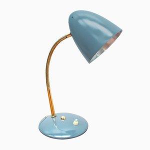 Lampe de Bureau en Laiton de Helo, Allemagne, 1950s