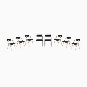 Esszimmerstühle, 1970er, 8er Set