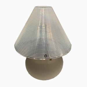 Lampe de Bureau en Verre de Murano par Renato Toso pour Leucos, 1970s