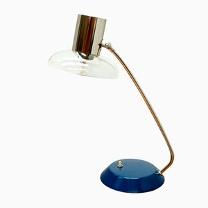 Glass Table Lamp, 1950s