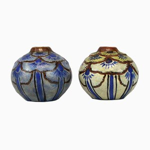 Vases from La Maitrise, 1920s, Set of 2