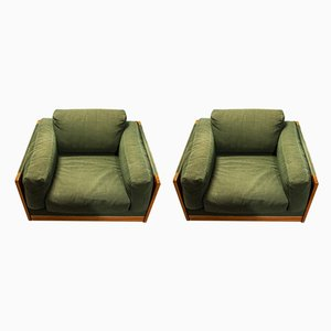 Italian Model 920 Lounge Chairs by Tobia & Afra Scarpa for Cassina, 1966, Set of 2