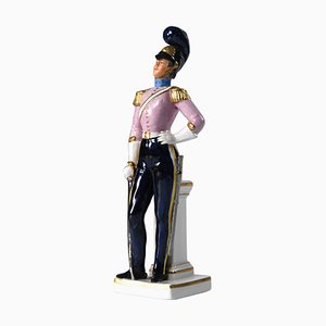Soldier Figurine from Sitzendorf, 1930s