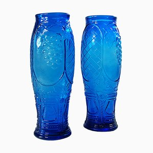 Glass Vases by Rossini, 1960s, Set of 2