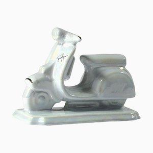 Scooter in ceramica di Italceramica, anni '60