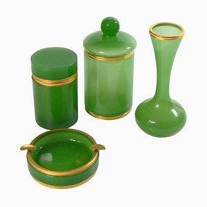 Italienisches Set aus Glas, 1960er, 4er Set