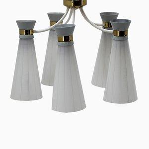 Lampe à Suspension Mid-Century de Drukov, 1960s