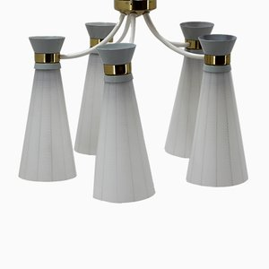 Mid-Century Pendant Lamp from Drukov, 1960s