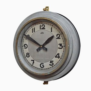 Industrial Clock from Ato, 1950s