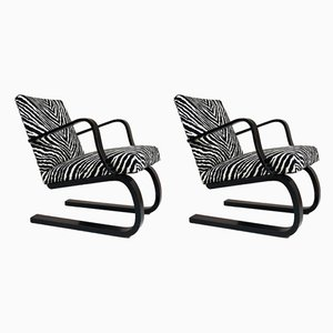Lounge Chairs by Maija Heikinheimo for Asko, 1930s, Set of 2