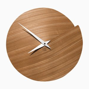 Nude Vulcano Wall Clock by Andrea Gregoris for Lignis