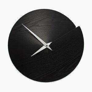 Reloj de pared Nude Vulcano de Andrea Gregoris para Lignis